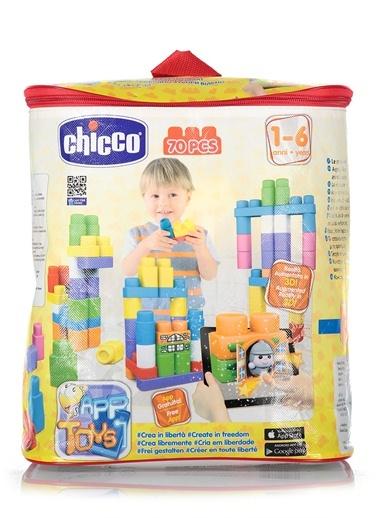 Toy Buıldıng Blocks Bag 70 Pcs-Chicco